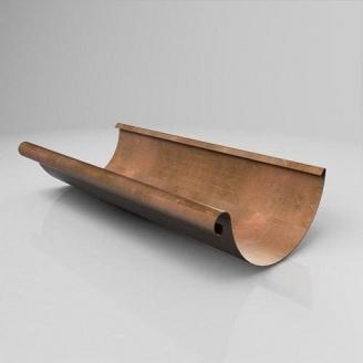 Желоб полукруглый JB Roofart Scandic Copper 150 мм 3 м медный