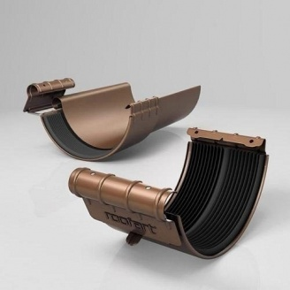 Хомут желоба BJ Roofart Scandic Copper 125 мм медный