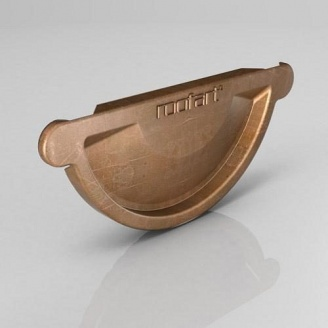 Заглушка універсальна CU Roofart Scandic Copper 150 мм мідний