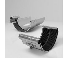 Хомут ринви BJ Roofart Scandic Zinc 125 мм цинковий