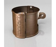 Хомут крепления трубы BB Roofart Scandic Copper 100 мм медный