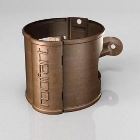 Хомут кріплення труби BB Roofart Scandic Copper 100 мм мідний