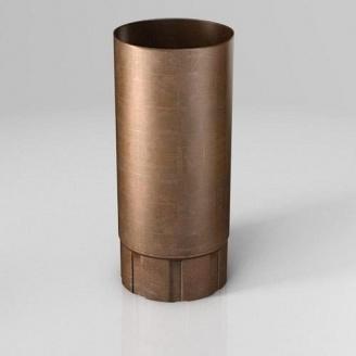 Водосточная труба BU Roofart Scandic Copper 100 мм 3 м медный