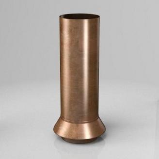 Дренажний з'єднувач RC Roofart Scandic Copper 87 мм мідний