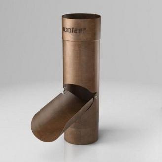 Водосборник EC Roofart Scandic Copper 87 мм медный