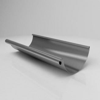 Желоб полукруглый JB Roofart Scandic Zinc 125 мм 3 м цинковый