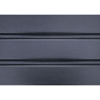 Софит ASKO без перфорации 305x3500 мм графитовый