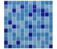 Мозаика VIVACER GLmix2 на сетке 2,5x2,5 cм