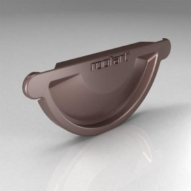 Заглушка універсальна CU Roofart Scandic Prelaq 125 мм коричневий RAL8017