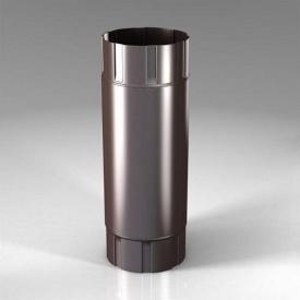 Проміжна труба PB Roofart Scandic Prelaq 87 мм 1 м коричневий RAL8017
