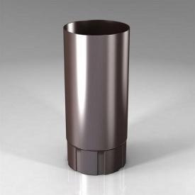 Водостічна труба BU Roofart Scandic Prelaq 87 мм 3 м коричневий RAL8017