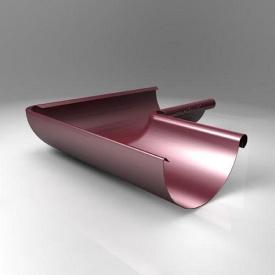 Внутрішній кут KI Roofart Scandic Prelaq 125 мм 90 градусів вишневий RAL3005