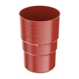 Муфта труби Bryza 75 63,3х117х57,5 мм червоний