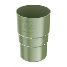 Муфта труби Bryza 75 63,3х117х57,5 мм зелений
