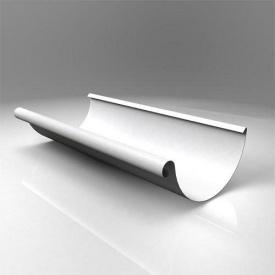 Жолоб напівкруглий JB Roofart Scandic Prelaq 150 мм 3 м білий RAL9010 (Копія)