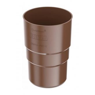 Муфта трубы Bryza 100 90,2х145х84,5 мм коричневый
