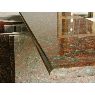 Столешница кухонная каменная Rosso Toledo 600х20 мм