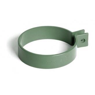 Хомут трубы Bryza 75 63х25 мм зеленый