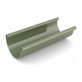 Ринва водостічна Bryza 75 мм 3 м зелений