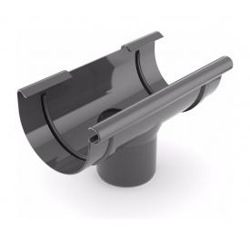 Лійка ринви зливна Bryza 100 240х90 мм графіт
