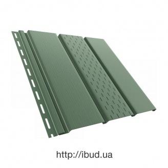 Софіт BRYZA перфорований 4000х305 мм зелений/RAL 6020