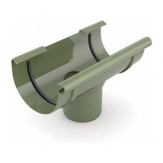 Воронка желоба сливная Bryza 125 280х90 мм зеленый