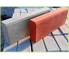 Вибролитый бордюр 40х500х200 мм серый
