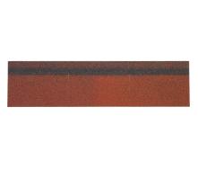 Гребенево-карнизна черепиця Shinglas 250х1000 мм червоний