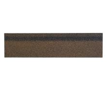 Коньково-карнизная черепица Shinglas 250х1000 мм коричневый микс