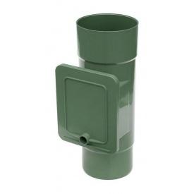 Люк для чистки Bryza 125 110,4х104,5 мм зелений