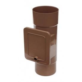 Люк для чистки Bryza 100 110,4х104,5 мм коричневий