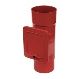 Люк для чистки Bryza 75 110,4х104,5 мм червоний