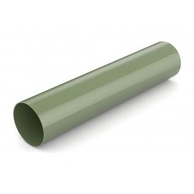 Водостічна труба Bryza 125 90 мм 3 м зелений