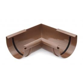 Кут внутрішній 90 градусів Bryza 125 коричневий