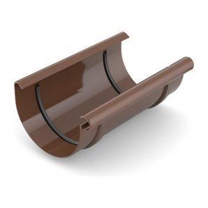 Муфта желоба Bryza 100 200 мм коричневый
