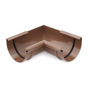 Угол внутренний 90 градусов Bryza 125 коричневый