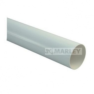 Труба водосточной системы MARLEY 90 мм серая