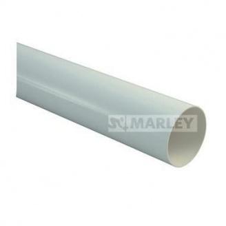 Труба водосточной системы MARLEY 75 мм серая