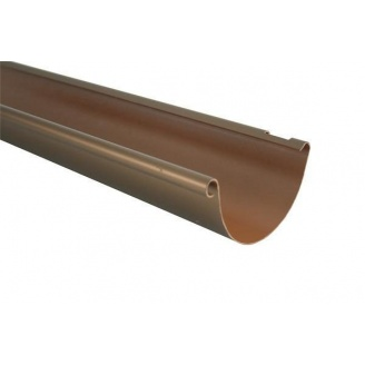 Пластиковая водосточная система MARLEY коричневая