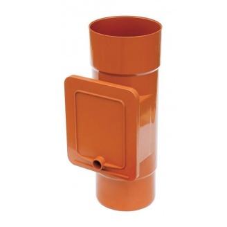 Люк для чистки Bryza 75 110,4х104,5 мм цегляний