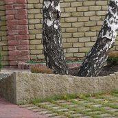 Столбик декоративный Золотой Мандарин 500х175х150 мм горчичный