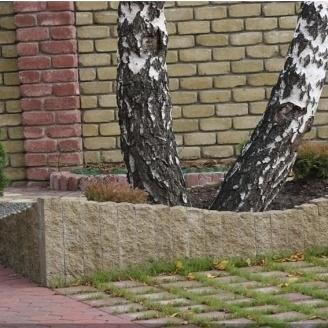 Столбик декоративный Золотой Мандарин 300х100х150 мм горчичный