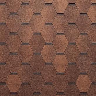 Битумная черепица Tegola Super Mosaic 1000х337 мм сосновая кора