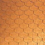 Битумная черепица Tegola Prestige Традишнл с медным покрытием 340х1000 мм