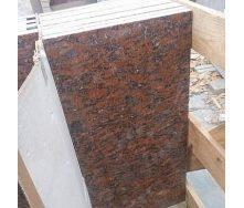 Плитка облицовочная Капустинский гранит 20 мм красная