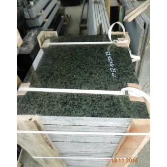 Плитка облицювальна гранітна Маславська 20 мм зелена