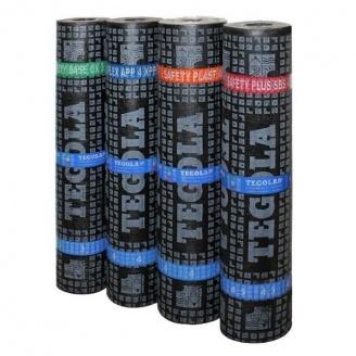 Рулонна гідроізоляція Tegola Safety Flex Color 4,75 EBP - зелений мікс 1х8 м