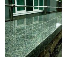 Гранитный подоконник из Маславского зеленого камня 450х30 мм