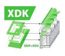 Комплект окладов FAKRO XDK гидро-пароизоляционный 66x118 см