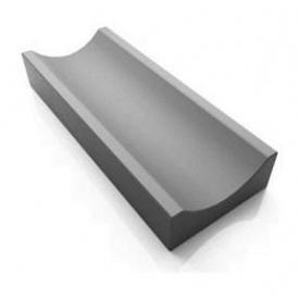 Отлив 28x16x6 мм серый